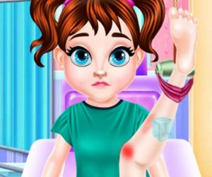 Baby Taylor Ballet Injury Treatment