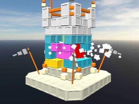 Castle Block Destruction