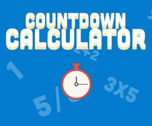 Countdown Calculator