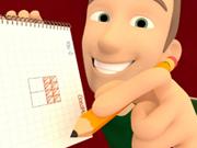 Drawing Squares - Logic Game