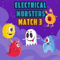 Electrical Monsters Match 3