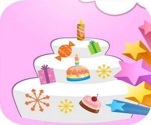 Happy Birthday Cake Decor