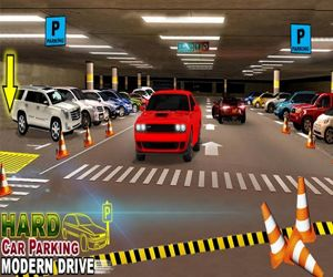 Hard Car Parking Modern Drive Game 3d