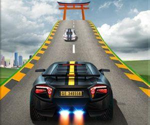 Impossible Car Stunts - Mega Car Ramp