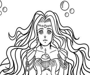 KAWAII MERMAIDS COLORING BOOK GAME