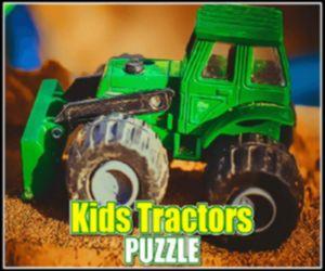 KIDS TRACTORS PUZZLE