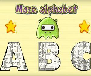 Maze Alphabet