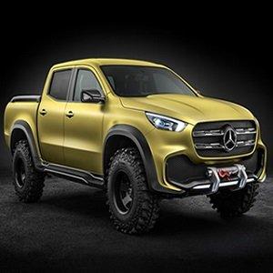 Mercedes Pickup Truck