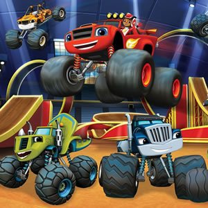 Monster Machines Hidden Tires