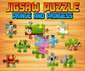 PRINCE AND PRINCESS JIGSAW PUZZLE