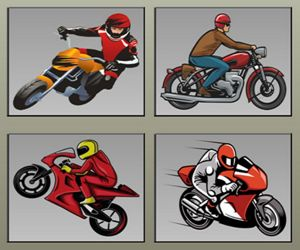 RACING MOTORCYCLES MEMORY