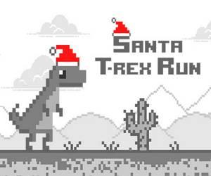 Santa T Rex Run