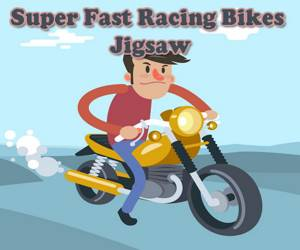 Super Fast Racing Bikes Jigsaw