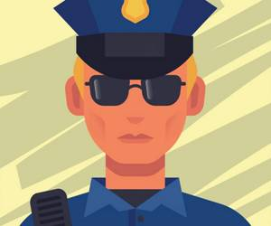 Super Police Jigsaw