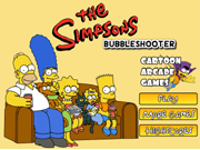 The Simpsons Bubble Shooter