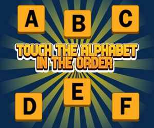 TOUCH THE ALPHABET IN THE ODER